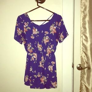 Other - Women's floral romper size small
